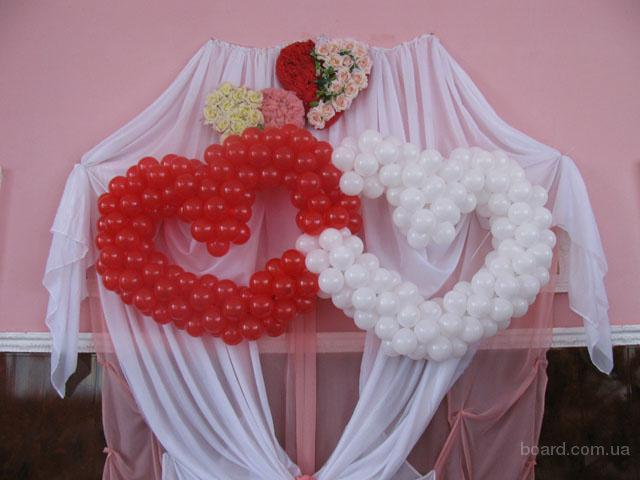 Воздушные шары на свадьбу прочее