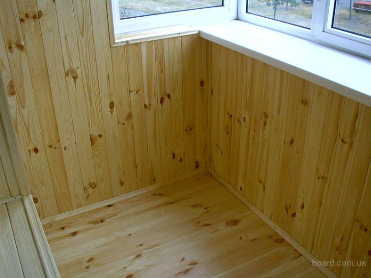 Внутренняя отделка балконов, лоджий фото 2.