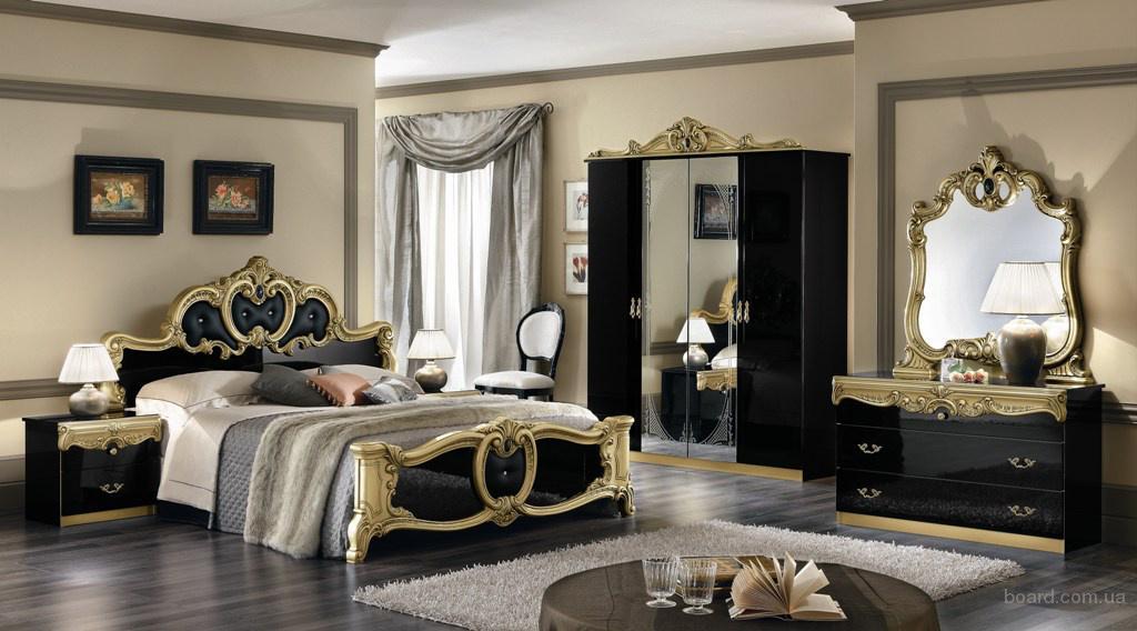 Итальянская мебель Спальня БАРОККО