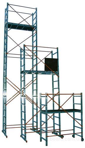 Вышки туры и подмости VINCO с рабочей высотой от 3,5 до 7 метров.  Открыть Детальнее в Новом Окне.