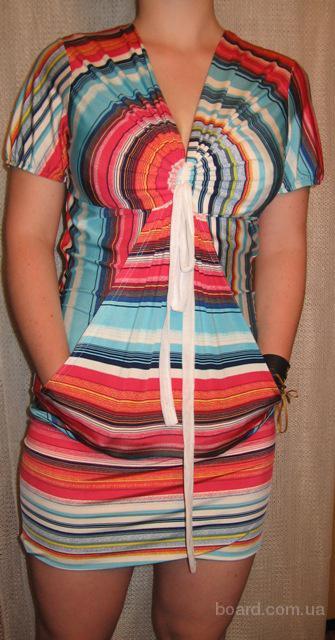 Летние платья туники купить с доставкой