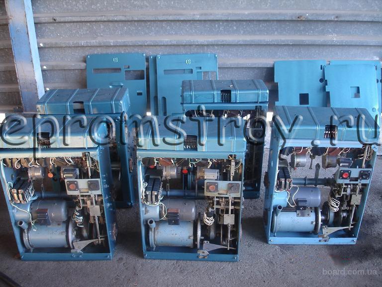 Ячейки КСО-272, приводы ПП-67, выключатели ВМП, ВНР.