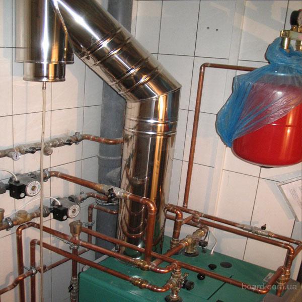 Дымоходы для газовых котлов своими руками фото