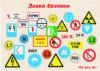 Знаки безопасности и таблички по охране труда