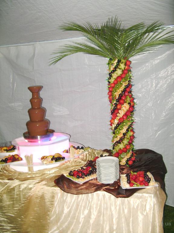 шоколадный фонтан на свадьбу, аренда