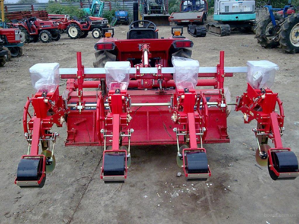 Сеялки точного посева для мини-тракторов из Японии.