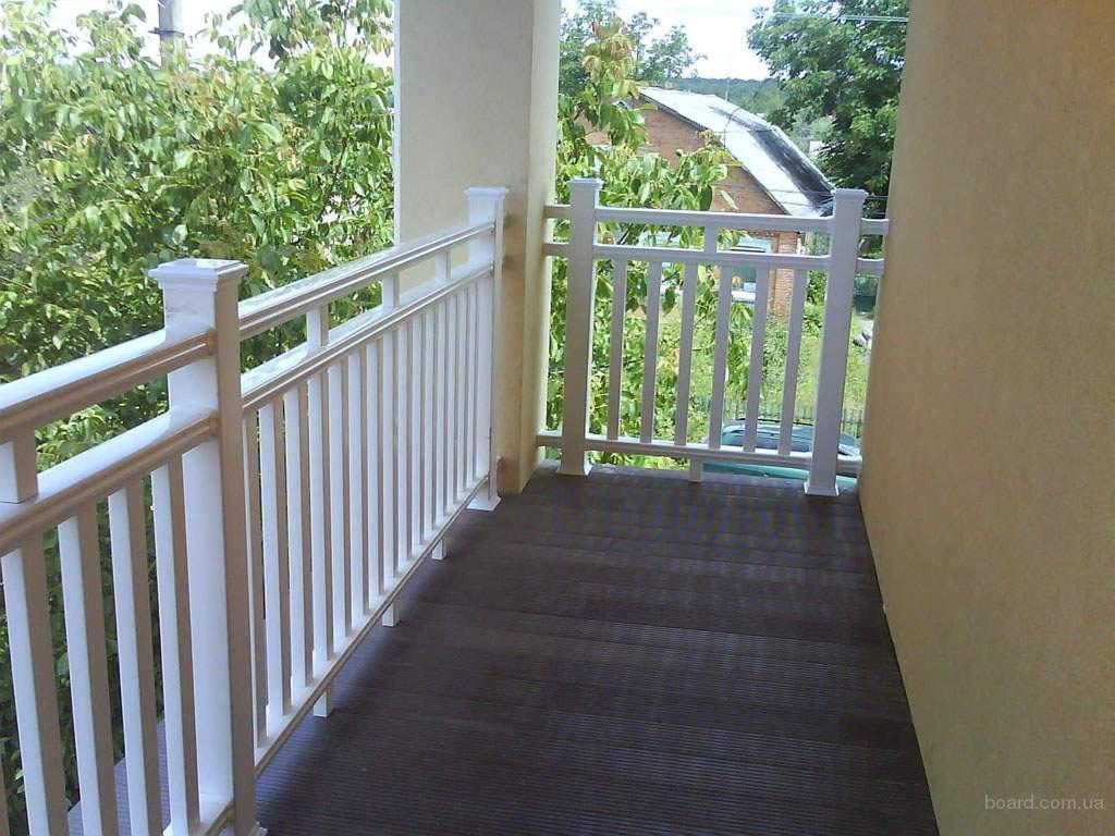 Пол на балкон - террасная доска дпк!.