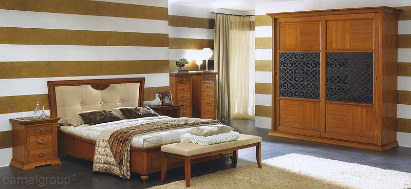 Спальня декора италия