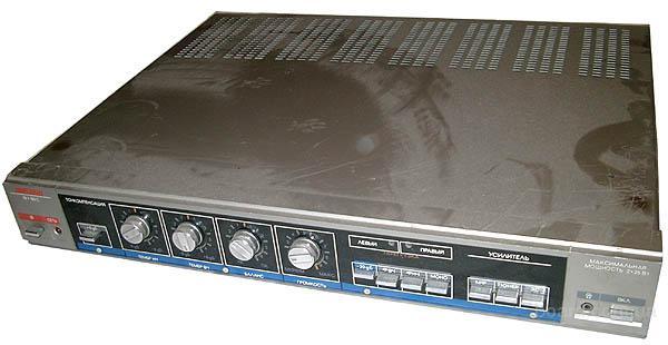 """vega 50y 122c.rar.  Схема усилителя мощности  """"Вега - 50У - 122 - стерео """"."""