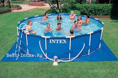 Продукция Интекс купить в Украине.Бассейны,кровати,матрасы Интекс