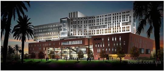 Схема территории больница