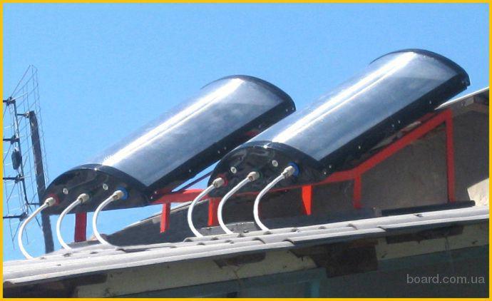 Отопление солнечный коллектор своими руками