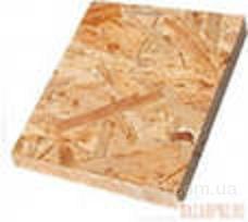 Плита строительная OSB-3  толщины от 6 до 22 мм.