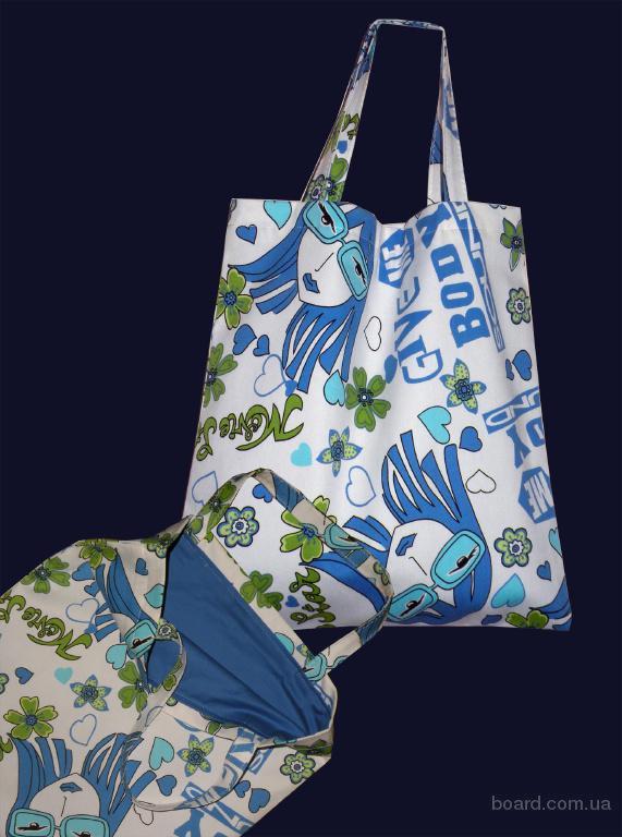 выкройки хозяйственной сумки из ткани - Сумки.