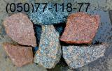 Камень бутовый(Бут), Бут гранитный,Укладка