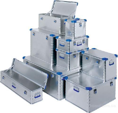 Фотографии к объявлению Алюминиевые ящики, кейсы, контейнеры, боксы.