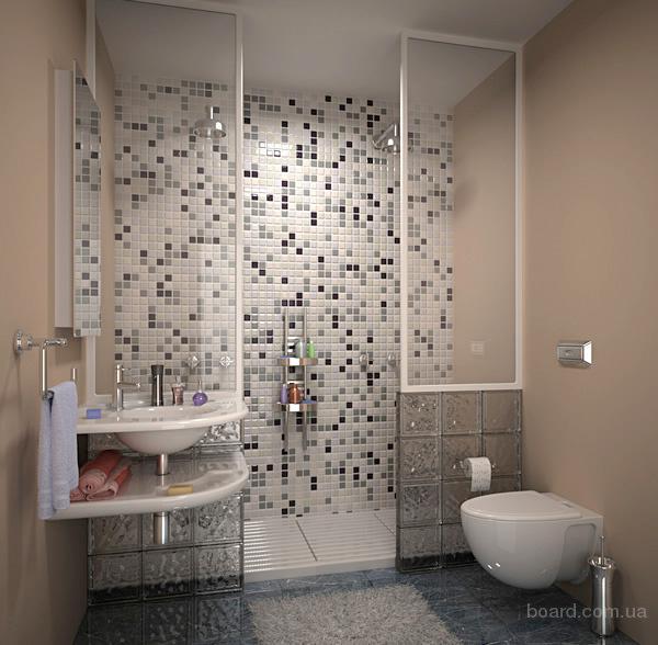 дизайн малогабаритной ванны.