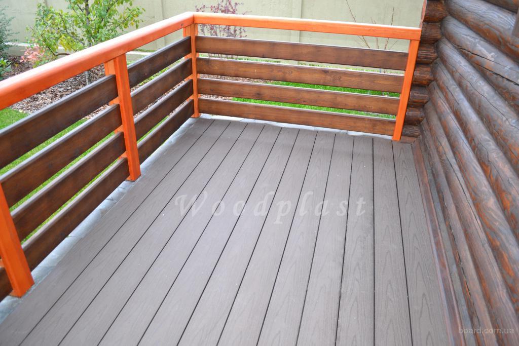 Доска для террас, бассейнов от компании Woodplast