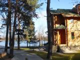 Аренда дома в Конче-Заспе на берегу реки, 3500у.е.