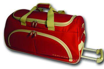 сумка чемодан на колесах.