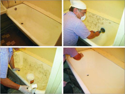 Как обновить ванну акрилом своими руками