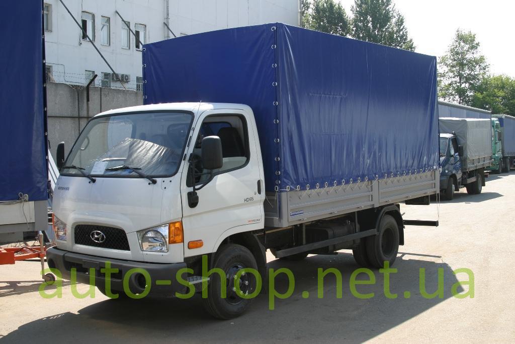 Hyundai HD65 борт-тент, фото…