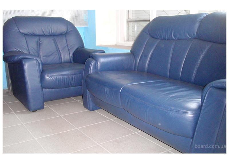 продам продам кожаную мебель б у с