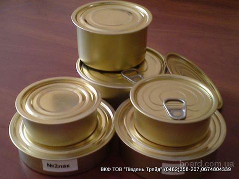 Крышки закаточные СКО тип 1-82,ж/банка.