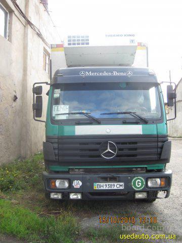 Управление объявлением.  Продажа 1999 г.в. Mercedes 1820L.