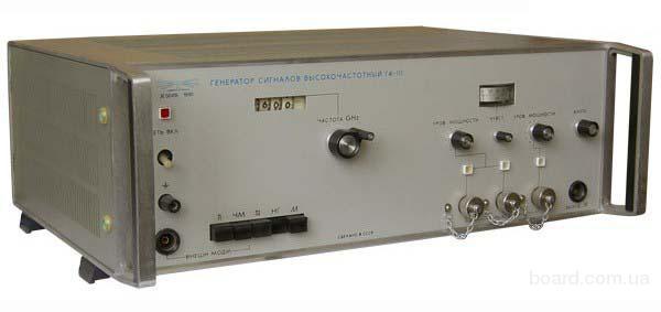 Генератор сигналов высокочастотный Г4-111А.