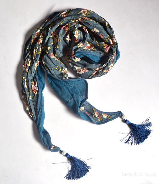 Описание: модный шарф связанный крючком - Мода и.