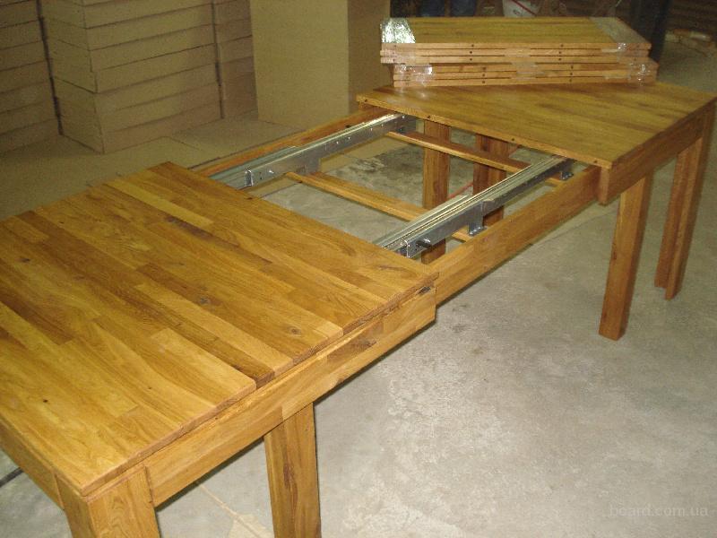 Длинный деревянный стол для застолья своими руками 36