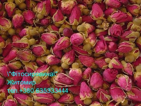 Лепестки розы, бутоны розы сушеные