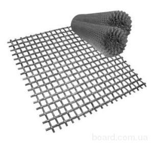 Сетка нержавеющая тканая стальная может поставляться с оцинкованным покрытием или без...