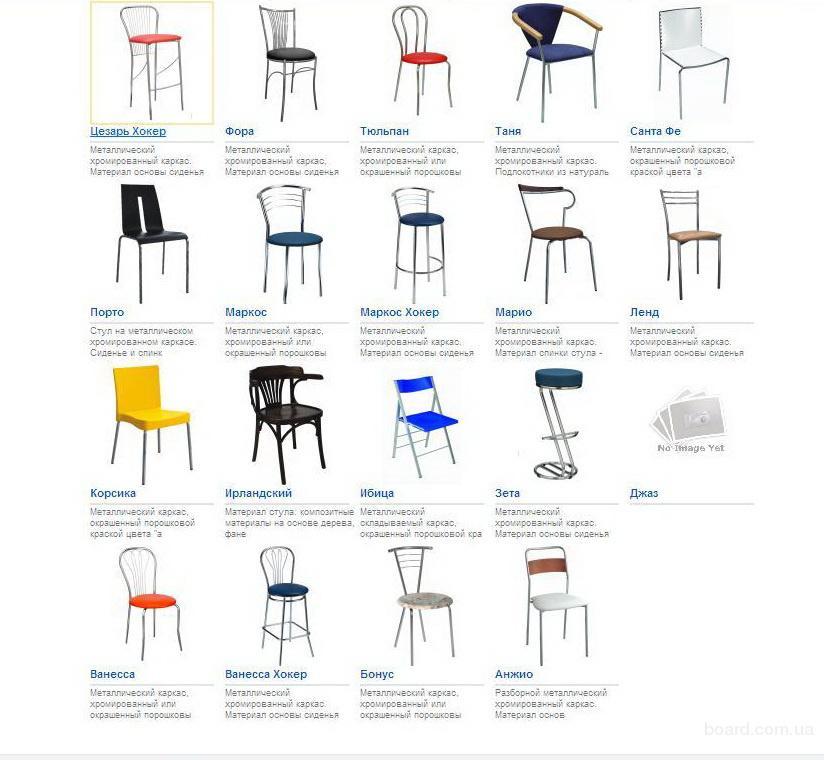 Барные стулья Marko, venus, Tulipan, Neron, Zeta
