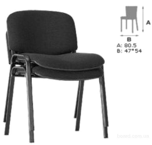 Офисный стул Изо блэк ( ISO black ) для посетителей от Shop-chairs - Мебельный портал UDOBNO77.RU
