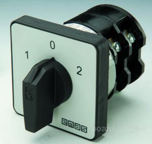 Переключатели кулачковые Emas Кулачковый выключатель ON-OFF.  Кулачковый выключатель 0-1, переключатель полюсов 1-0-2...