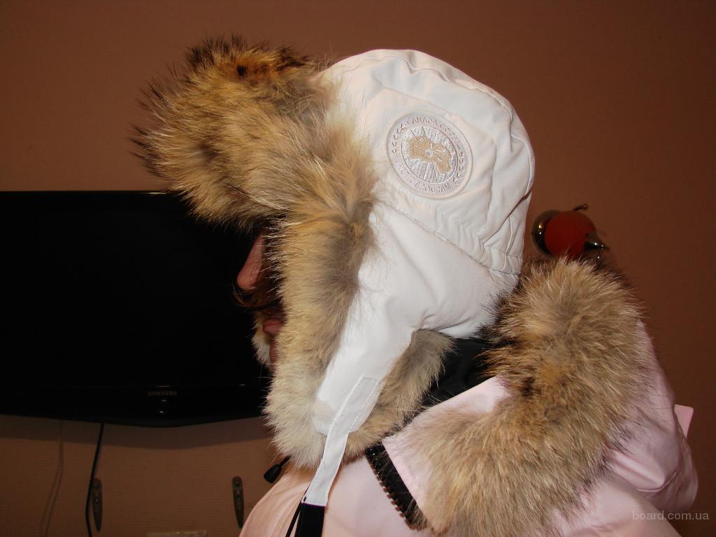 Шапка пуховик canada goose aviator hat продам