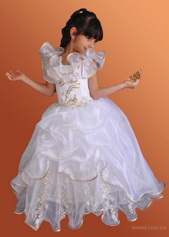 Нарядные бальные платья для девочек