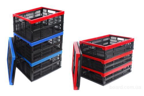 Пластмассовые складные ящики для пищевых продуктов