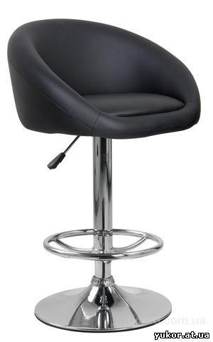 Барный стул HY 302 черный на газлифте ук
