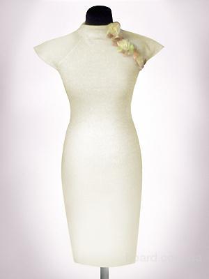 Выкройка прямого трикотажного платья 7