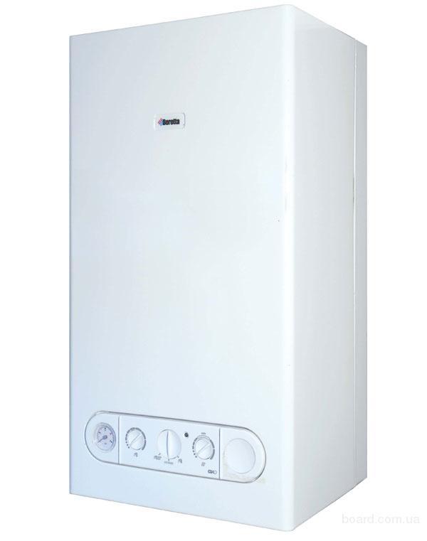 Дизельно-газовые котлы от 15 до 80 кВт, Газовые