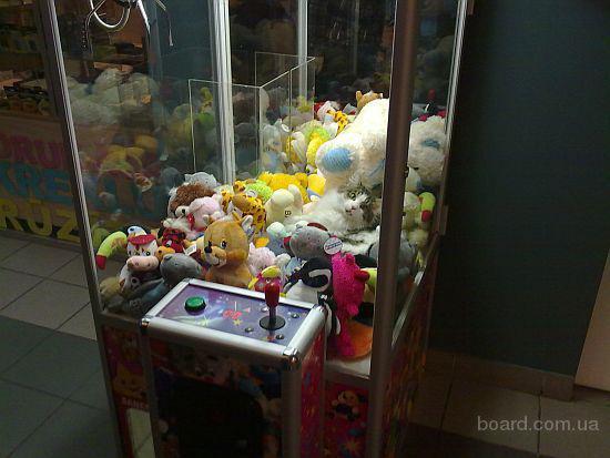 Игровой автомат достань игрушку цена