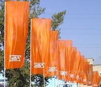 кронштейны для флагов фасадные Аренда флагштоков от компании Gold Media Group