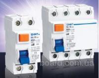 УЗО (устройства защитного отключения) CHINT NL1E-63, NL1.