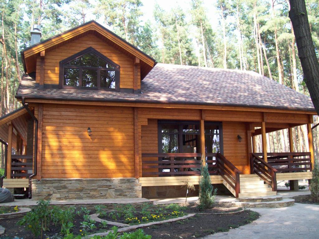 Деревянные дома клееный брус продам