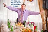 Ведущий на свадьбу выпускиой юбилей Адамов Владимир и музыка