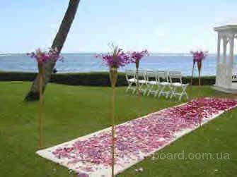 гавайские леи,лей прокат, аренда гавайских юбок, веночки из цветов