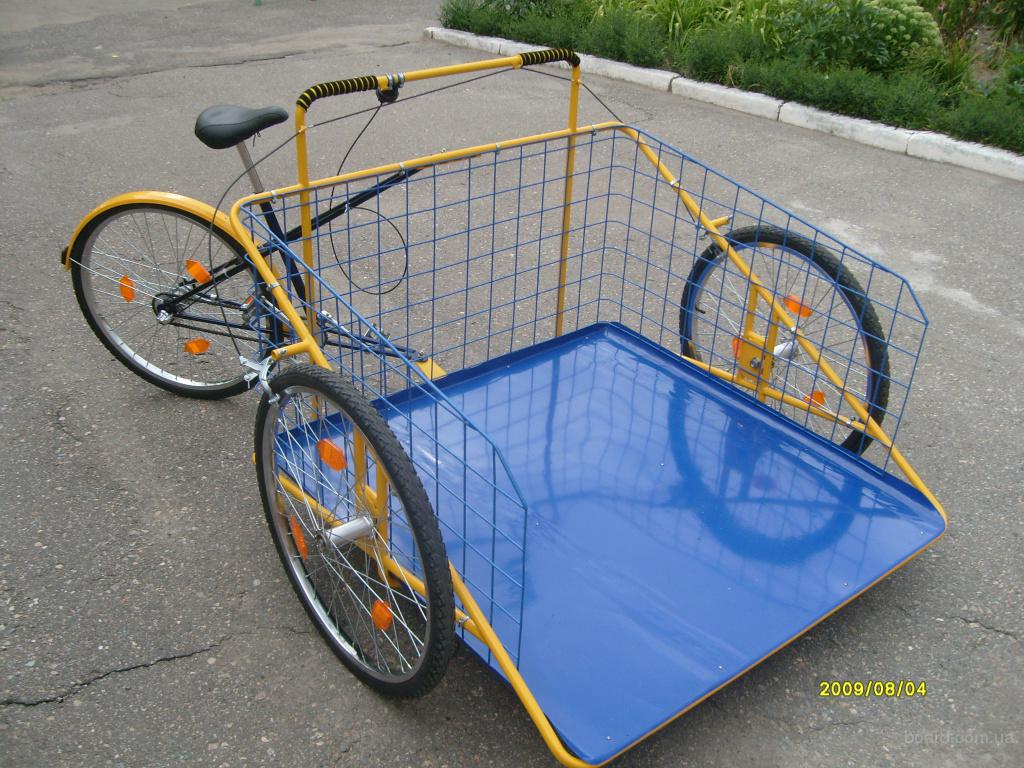 Как сделать грузовой велосипед своими руками